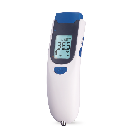 TaiDoc Forehead Thermometer TD-1241-TaiDoc provides telehealth devices and a series of smartphone application on both iOS and Android platform that supports the real time self-monitoring and analysis to your everyday health. There are Blood Glucose and Multiple Parameter Monitoring System, Blood Pressure Monitor, Thermometer, Weight Scale, Pulse Oximeter, ECG Recorder, and Bluetooth Dongle.