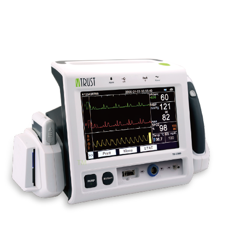 Multi Parameter Patient Monitor TD-2300 is a critical practice for clinicians to evaluate a patient's general health.