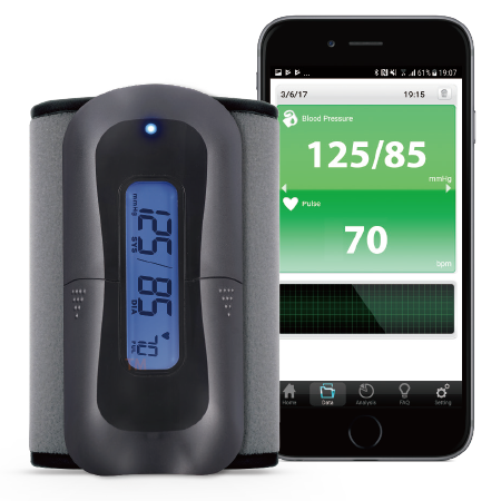 TaiDoc Blood Pressure Monitor TD-3140 - TaiDoc provides telehealth devices and a series of smartphone application on both iOS and Android platform that supports the real time self-monitoring and analysis to your everyday health. There are Blood Glucose and Multiple Parameter Monitoring System, Blood Pressure Monitor, Thermometer, Weight Scale, Pulse Oximeter, ECG Recorder, and Bluetooth Dongle.