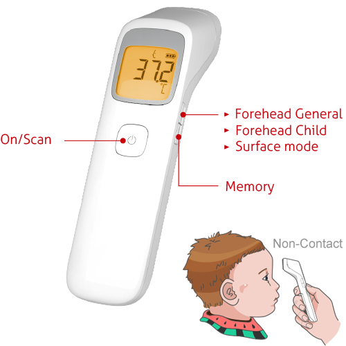 TD-1242 Non-Contact Thermometer