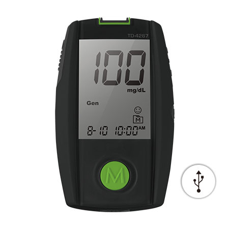 TaiDoc GOD Blood Glucose Meter TD-4267