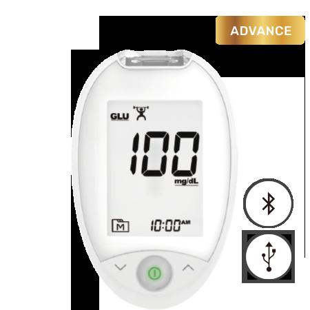 TaiDoc Blood Glucose Meter TD-4277C