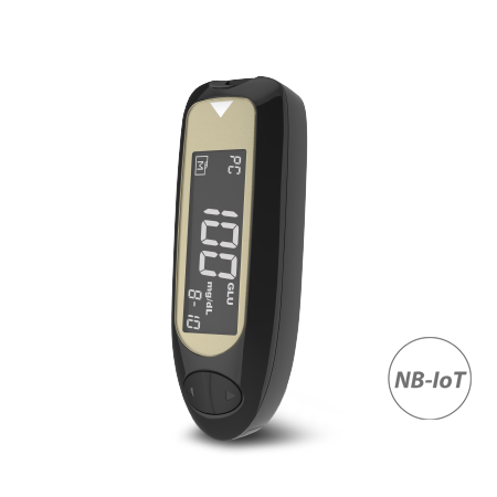 Wireless Blood Glucose Monitor TD-4141 with NB-IoT function can easily manage your glucose levels.